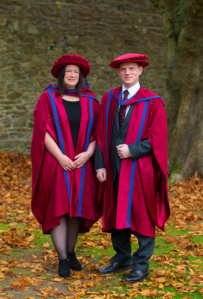 03/11/2016. Waterford Institute of Technology (WIT) Conferring Ceremonies November 2016.  Pictured are Aisling Tuite and David Paisley who were  conferred with PhDs. Picture: Patrick Browne
