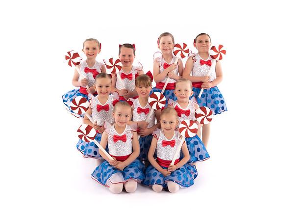 "Pre-Ballet 1/2 ""On the Good Ship Lollypop"""