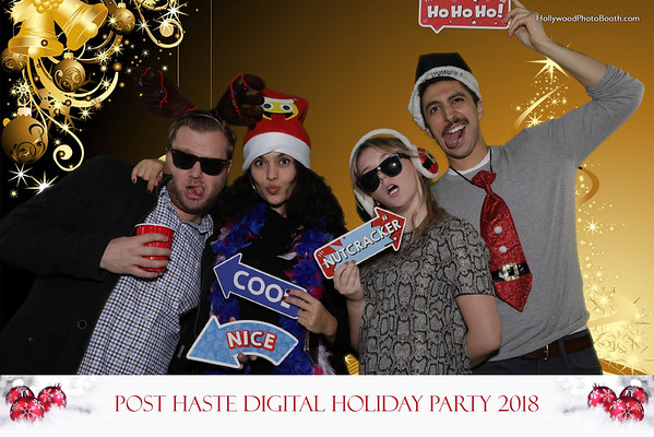 Post Haste Holiday Party 2018