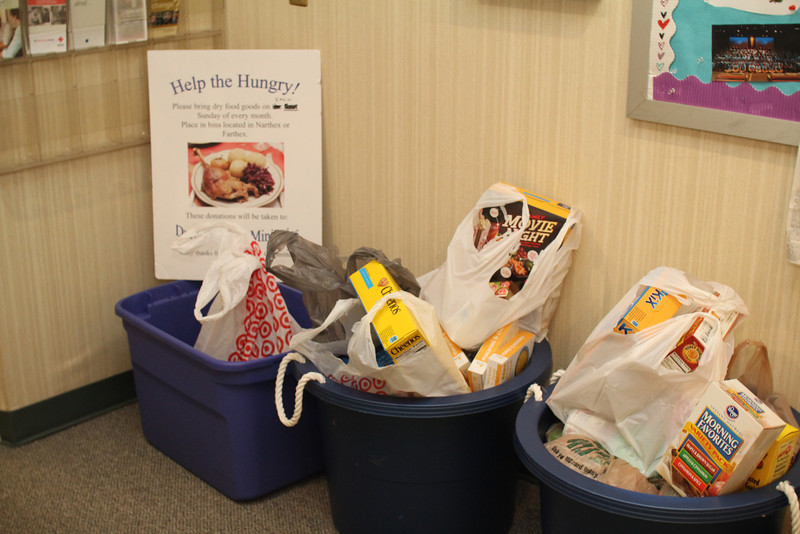 Food Collection for Urban Ministries