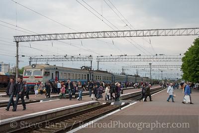 Slavutych and Chernihiv