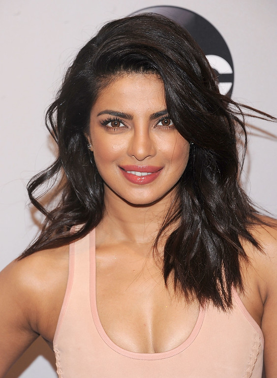 . Priyanka Chopra attends the 2016 ABC Upfront at David Geffen Hall on May 17, 2016 in New York City.  (Photo by Brad Barket/Getty Images)