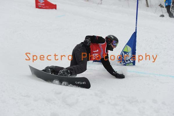 OFSAA Snowboarding 2016 Boys 1st Run