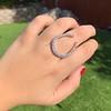 1.60ctw Horseshoe Conversion Ring 18