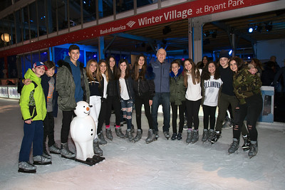 The Windward School Ice Skating Party 2018
