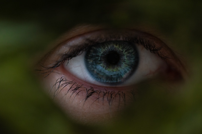 Green Blue Eye