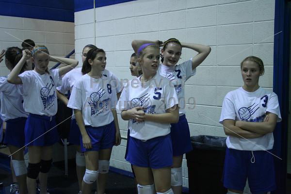 8th grade volleyball parent night . 9.29.10