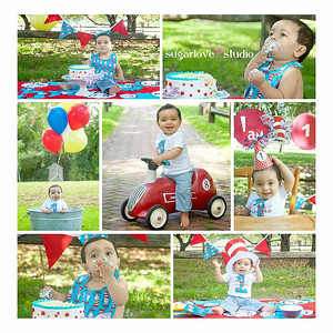 2013 - Lucas 1st Birthday