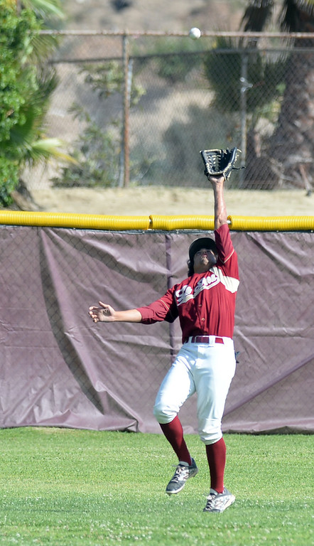 . Santa Fe plays La Serna in their Del Rio League game at La Serna High School in Whittier on Wednesday April 23, 2014. (Staff Photo by Keith Durflinger/Whittier Daily News)