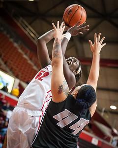 Rutgers Scarlet Knights 58 v LIU Brooklyn Blackbirds 32