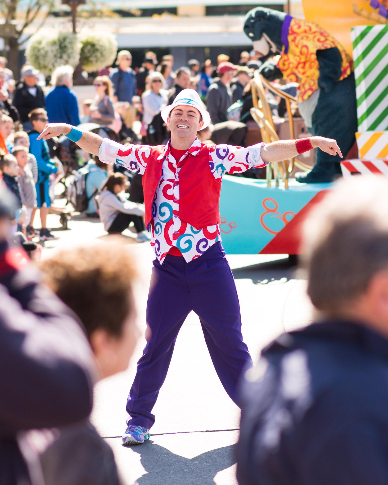 Move It! Shake It! Dance & Play It! - Walt Disney World Magic Kingdom