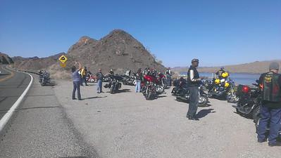 Barry's Long Ride to Yuma/AZ State Rally