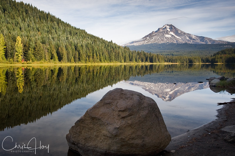 Trillium Lake with Mt. Hood