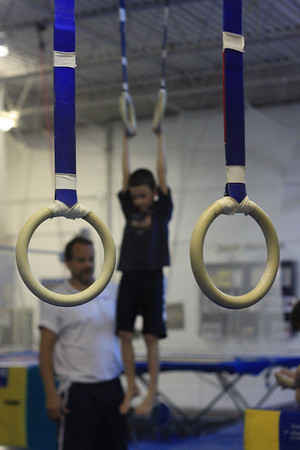 Boys Gymnastics October 2008