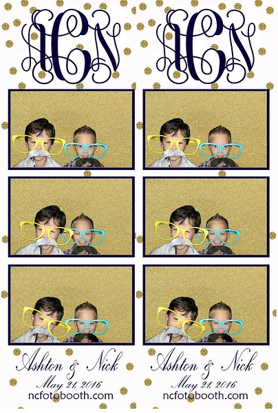 Ashton and Nick's Photo Strips
