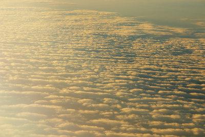A Passing of Clouds - Plane Flight Skyviews