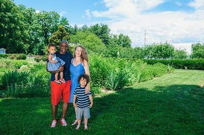 Burkes family 2019
