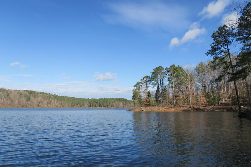Jordan Lake State Recreation Area - New Hope Overlook Loop  (5.5 miles; d=6.30)