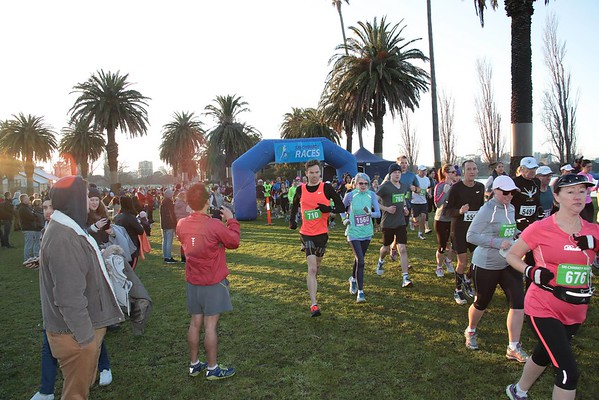 Sri Chinmoy Albert Park Half-Marathon, 10km & 5km, 21 June 2015