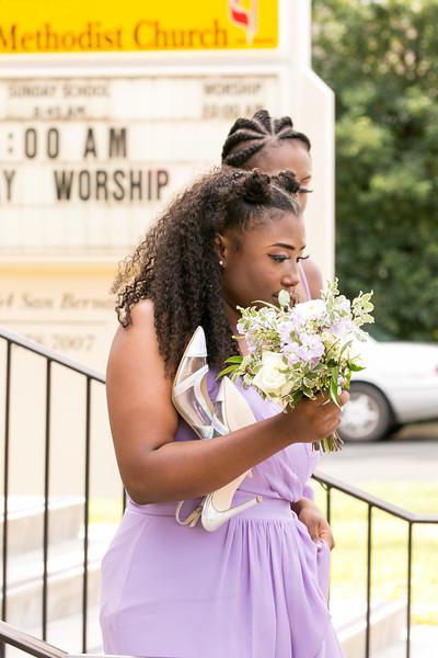 Javaughn Mariah After Ceremony