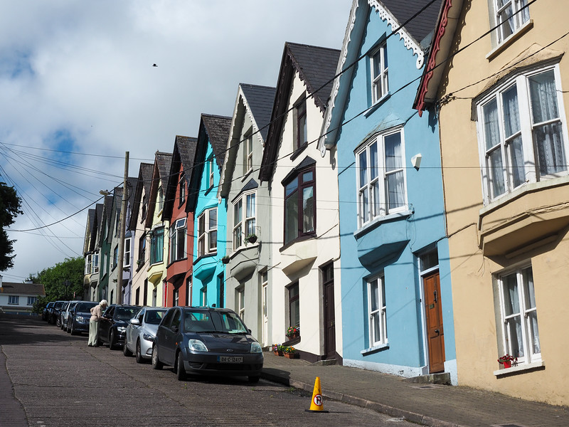 Colorful houses in Cobh