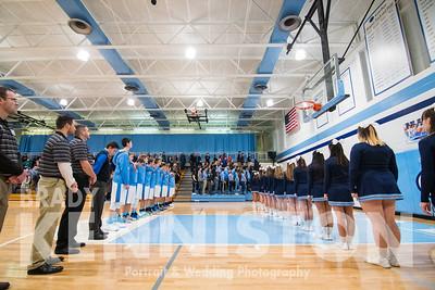 1-10-17 Garber Varsity Basketball
