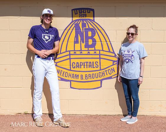 Broughton varsity baseball vs Sanderson. April 24, 2019. 750_0146