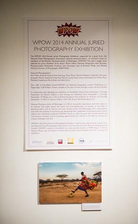 Women Photojournalists of Washington 2014 Exhibition Party