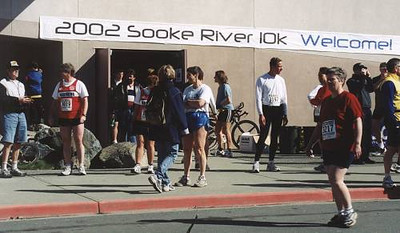 2002 Sooke River 10K - Welcome