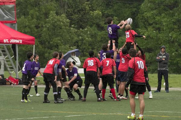 Freshmen vs St John's 4-22-12