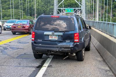 7-14-18 MVA With Injuries, Bear Mountain Bridge,  Photos By Bob Rimm