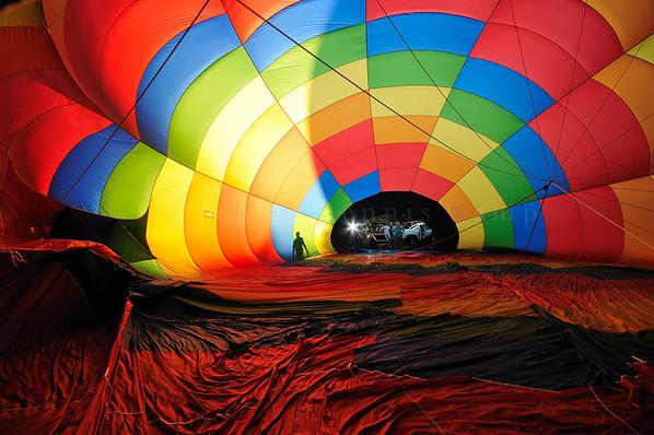 Coney Island - Hot Air Balloon Photography Glow