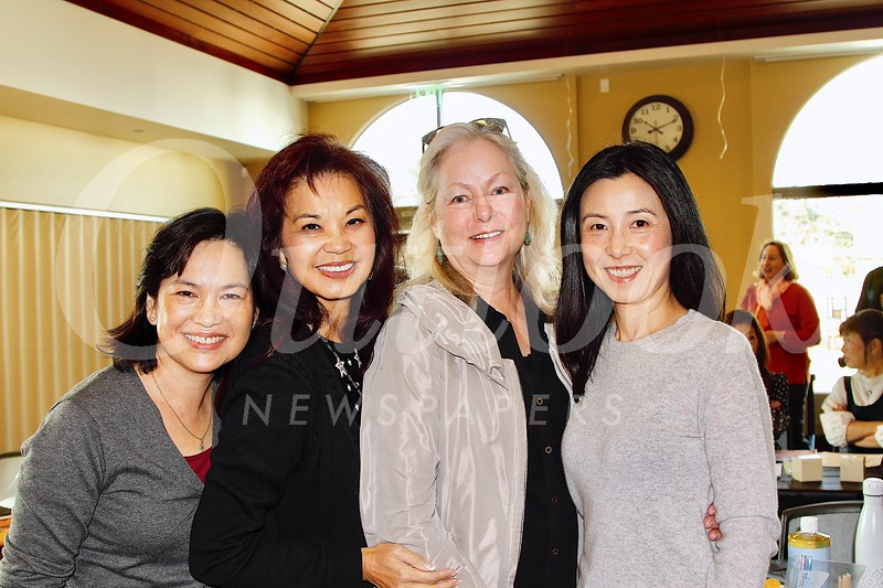 Lisa Wong, Patricia Tom Mar, Kathleen Bescoby and Genevieve Chien