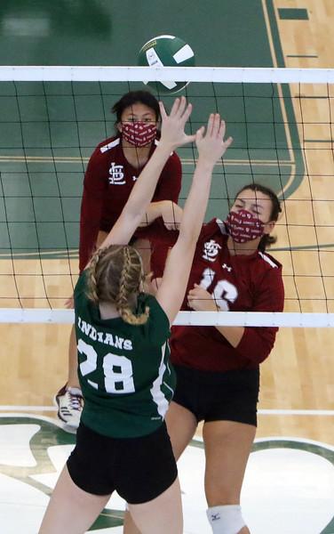 Billerica Lowell volleyball 101720