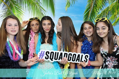 Julia's bat Mitzvah