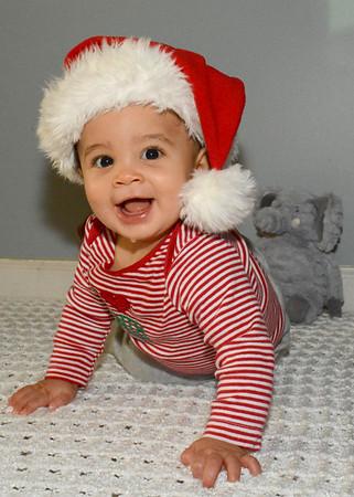 Jaxson first Christmas 2018