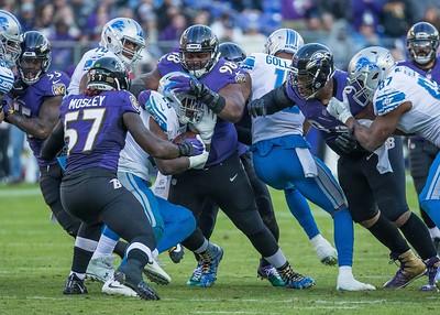 Ravens vs Lions  12-3-17