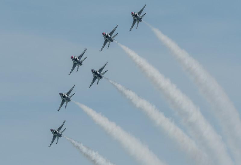 USAF T-birds Delta