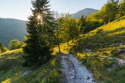 Climbing Kamniški vrh - Sep 17, 2018