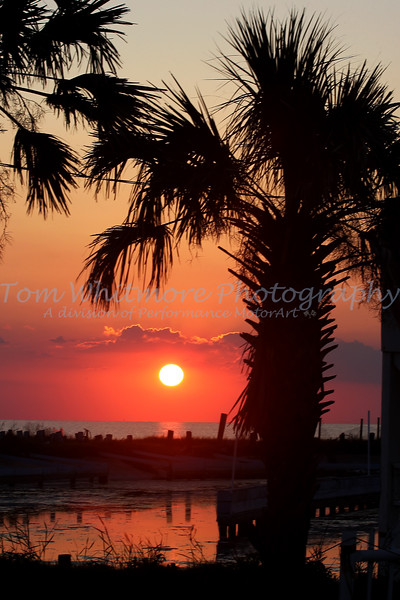 Sunset At Rodanthe NC