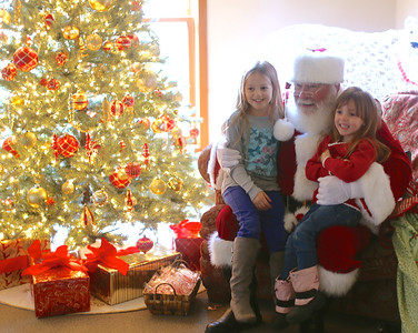 Santa @ The Sisters Chamber of Commerce 2014