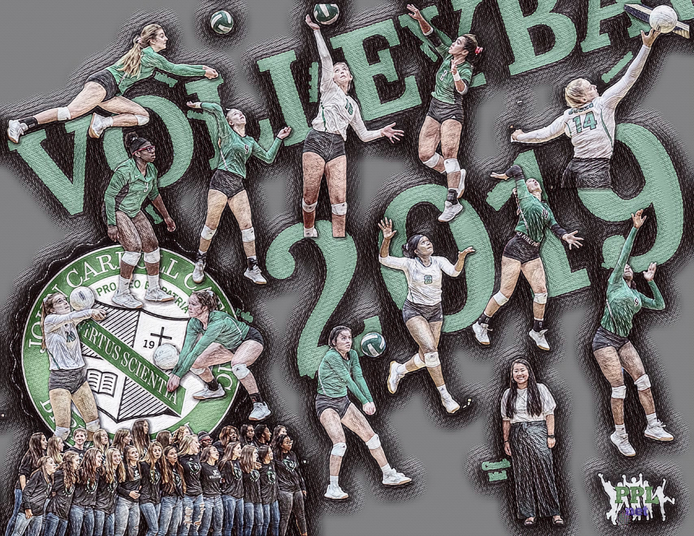🏐 Varsity Volleyball|Team Poster|2019