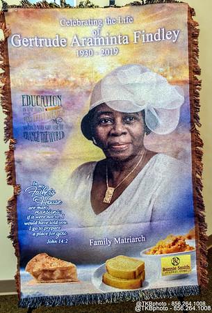 Homegoing Service - Mrs. Gertrude Araminta Findley