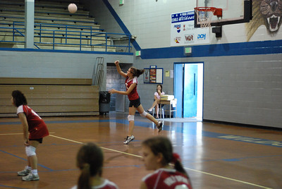 Middle School Volleyball at Echols Aug 27