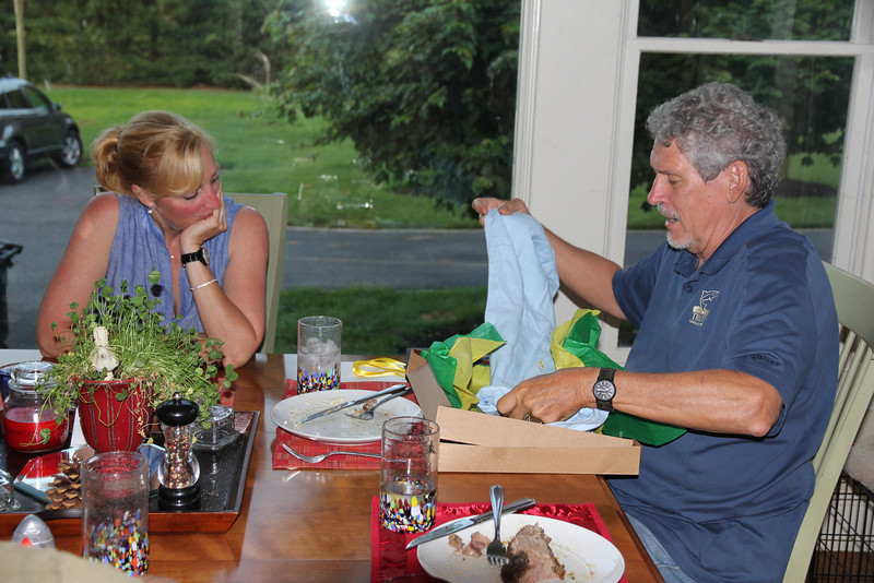 delicious Father's Day dinner  2014
