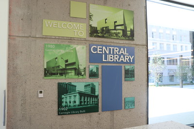 Central Library Tour 4/2/21