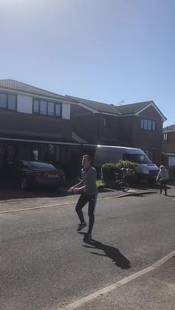 Bens Dancing in the street
