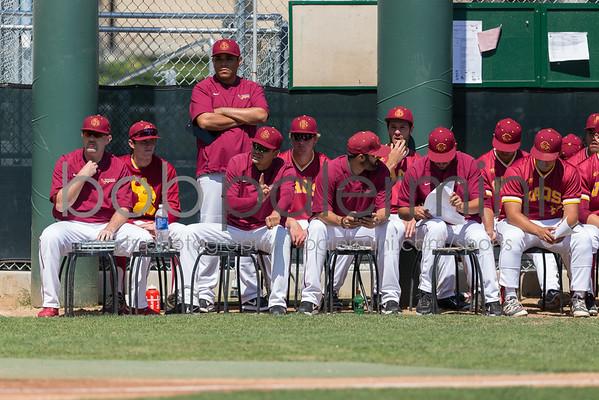 GCC Baseball vs L.A. Valley 4-12-16