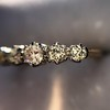 0.48ctw Vintage Transitional Cut Diamond 5-stone Band 2