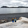 Lego selfie at Sam White's Cove